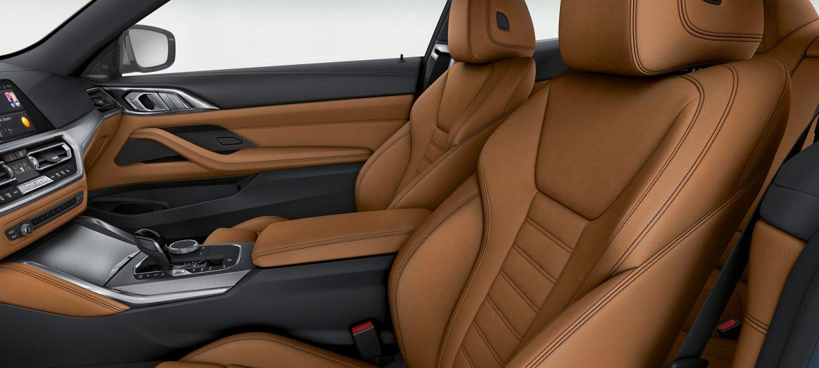 BMW 4er Coupé G22 2020 Innenraum Bedienelemente