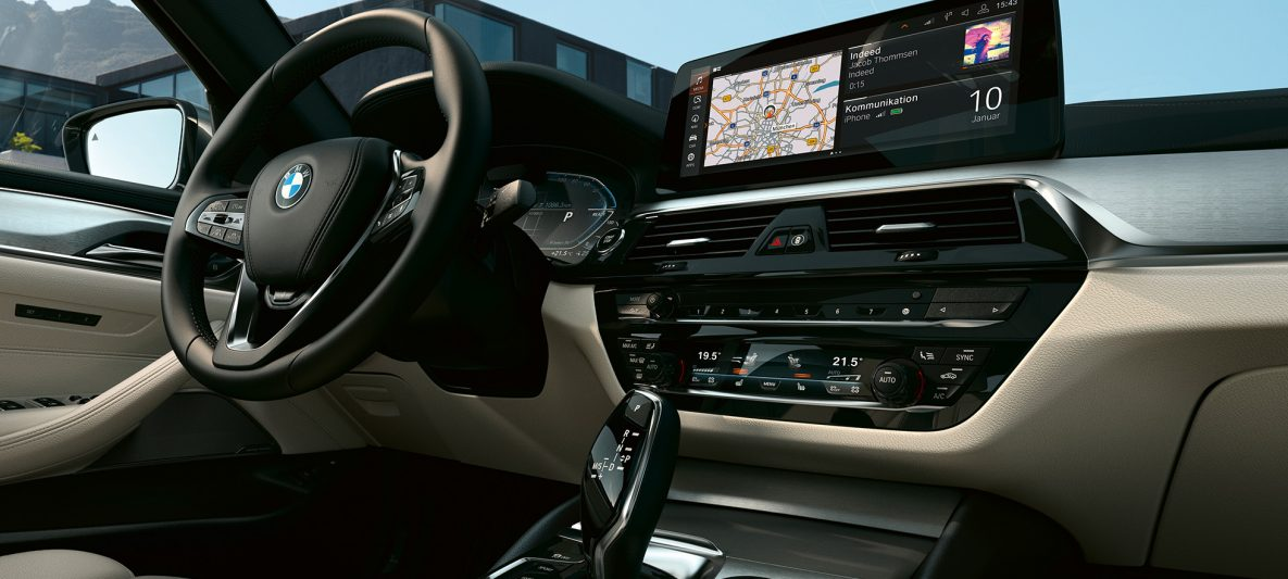 Cockpit BMW 5er Touring G31 Facelift 2020 Sophistograu Interieur