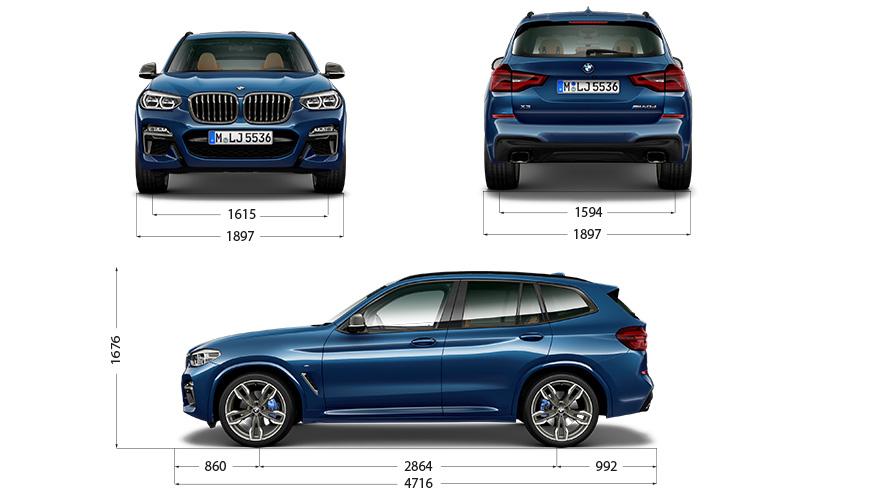 Technische Daten BMW X3 M