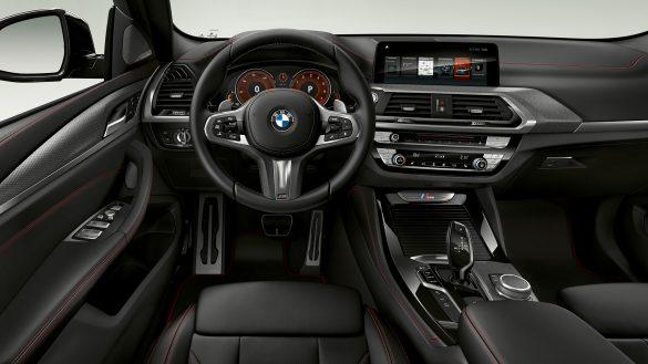 BMW X4 M Innenraumq