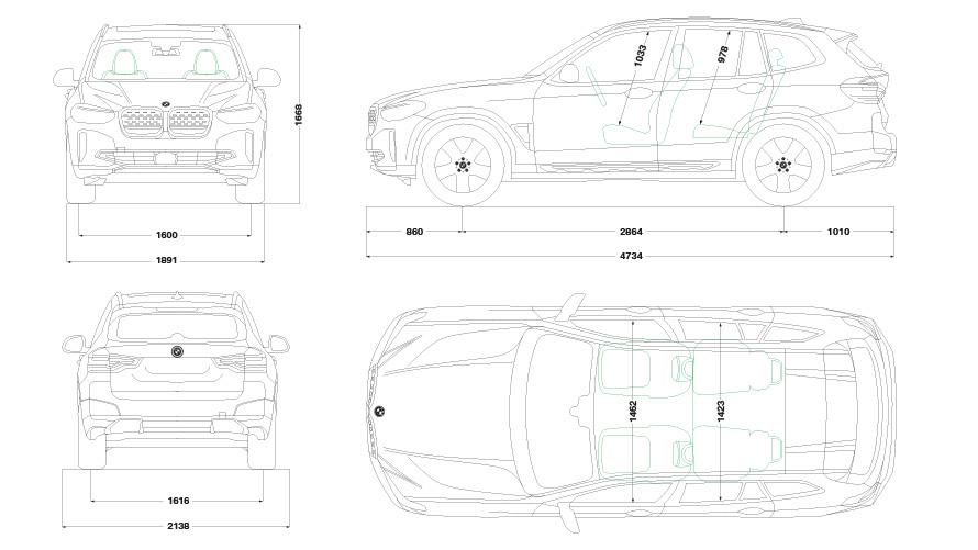 Technische Daten BMW iX3