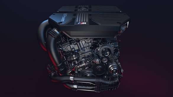 BMW X4 M High-Performance M TwinPower Turbo Reihen-6-Zylinder Benzinmotor