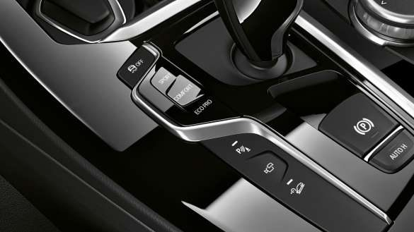 BMW X3 Fahrerlebnisschalter