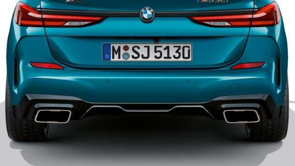 BMW 2er Gran Coupé Endrohrblenden