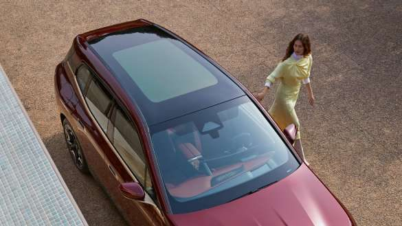BMW iX Panorama-Glasdach