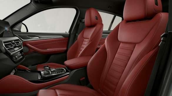 BMW X4 G02 Sportsitze für Fahrer und Beifahrer 2021
