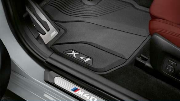 BMW X4 G02 BMW Fußmatten Allwetter vorn 2021