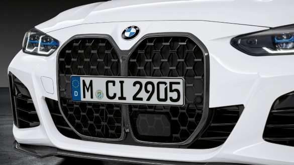 M Performance Frontziergitter Carbon.